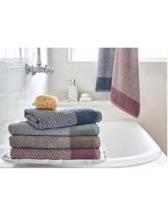 Juego de toallas baño 100% micro algodón suave y absorbente