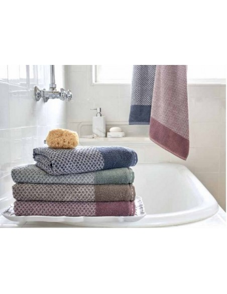 Juego de 3 toallas baño 100% micro algodón suave y absorbente