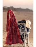 Toalla de playa velour 100% algodón 100x170 cm - 420 gr./m2