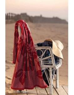Toalha de praia em veludo 100% algodão 100x170 cm