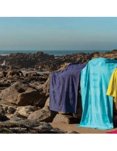 Toalha de praia grande 100% algodão 100 x 170 cm - 360 gr./m2