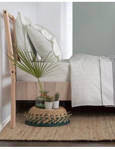 Cama 180 cm - Juego sábanas 100% algodón orgánico - Yucca Gamanatura