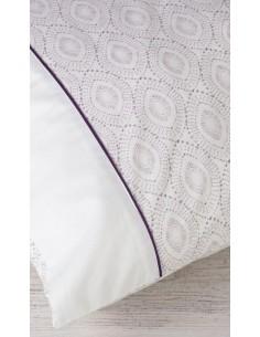Cama 180 cm - Jogo de lençóis 100% algodão orgânico - Yucca Gamanatura