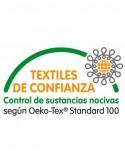 Mantel de mesa 1x1 metro 100% algodón jacquard - Mantel para mesa de 90x90 cm