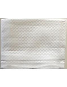 220x260 cm colcha de verao branca 100% algodão para cama de 135/140 cm