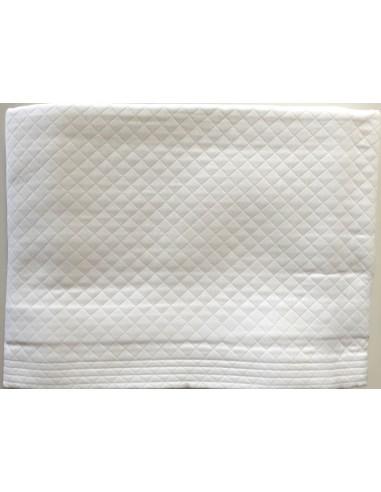 220X260 cm colcha de verano blanca 100% algodón - Colcha verano cama 135