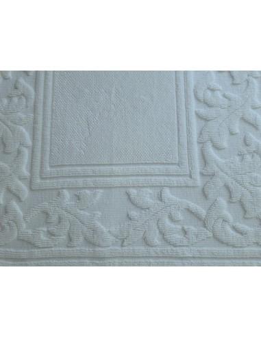 Alfombras artesanales 100% algodón blanco - Renaissance