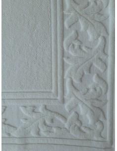 Tapetes artesanais 100% algodão branco - Renaissance