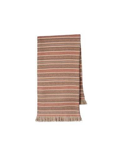 Manta para sofa 130x170 cm - mantas decorativas jacquard con flecos - 5733 PA