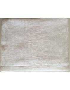 240X260 cm colcha de verano blanca 100% algodón - Colcha verano cama 150