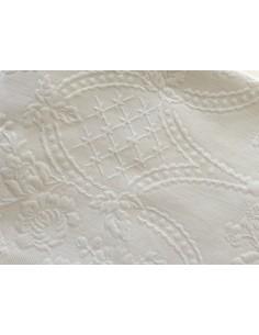 290x260 cm colcha de verao branca 100% algodão para cama de 180/200 cm