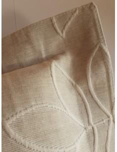 50x70 cm - Funda de almohada 85% algodón 15% lino