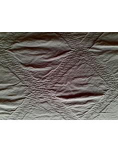 50x70 cm - Funda de cojín 100% algodón color Marrón