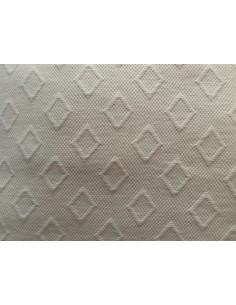 50x50 cm - Funda de cojín 100% algodón beige natural