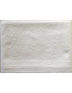 180x260 cm colcha de verao branca 100% algodão para cama de 135/140 cm
