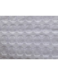 240X260 cm colcha de verano blanca 100% algodón