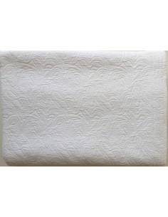 260x260 cm colcha de verano blanca 100% algodón - Colcha verano cama 160/180 cm