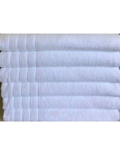 Toalhas brancas 100% algodão - Toalhas para hotel, spa, estética