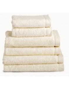 Toallas baño 100% algodón peinado 580 gr. color beige
