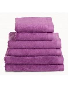 Toalhas de banho 100% algodão penteado 580 gr. cor framboesa