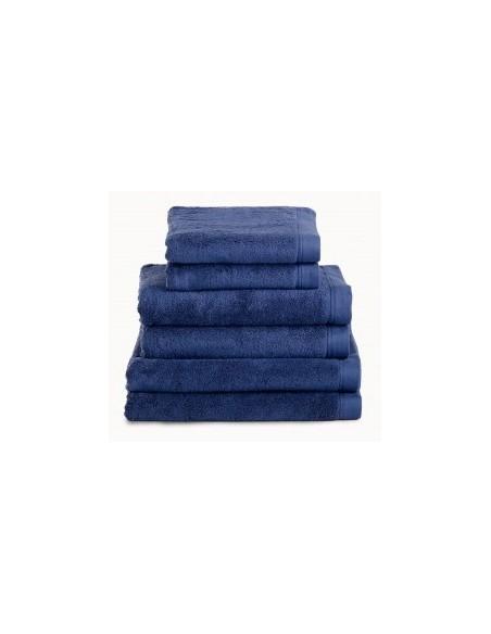 Toalhas de banho 100% algodão penteado 580 gr. cor azul marinho
