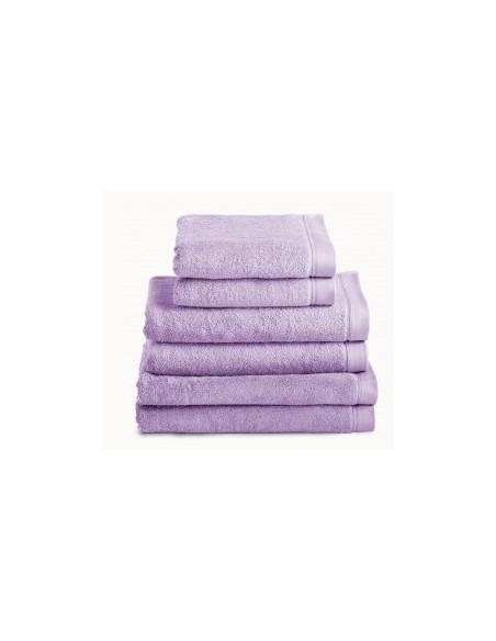 Toalhas de banho 100% algodão penteado 580 gr. cor lilás