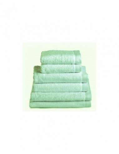 Comprar toallas ba o 100 algod n peinado 580 gr color verde pastel toallas - Toallas algodon peinado ...
