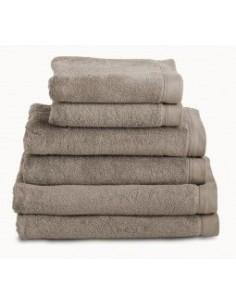 Toalhas de banho 100% algodão penteado 580 gr. cor taupe