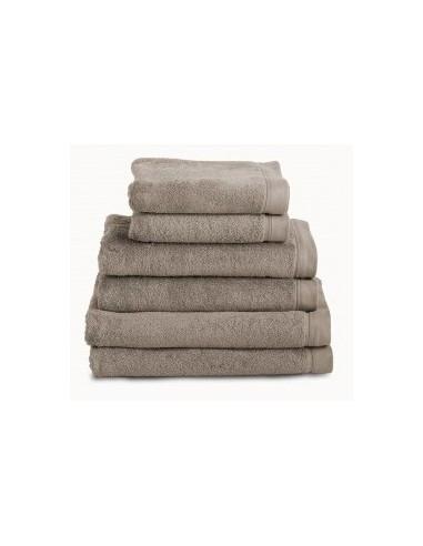 Comprar toallas ba o 100 algod n peinado 580 gr color taupe toallas - Toallas algodon peinado ...