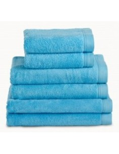 Toalhas de banho 100% algodão penteado 580 gr. cor turquesa