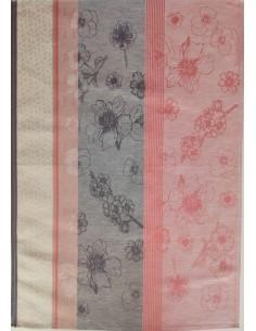 1 Paño de cocina tela 70x50 cm - Paño de cocina 50% algodón 50% lino