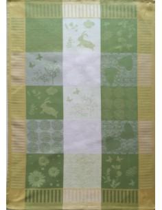 1 Pano de cozinha tela 70x50 cm - Panos cozinha 50% algodão 50% linho