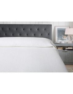 280x260 cm colcha de verao blanca 100% algodão