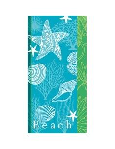 75x150 cm - Toalla playa 100% algodón 480gr./m2