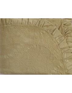 250x270 cm colcha de verano 100% algodón + 2 fundas almohada 50x70 cm